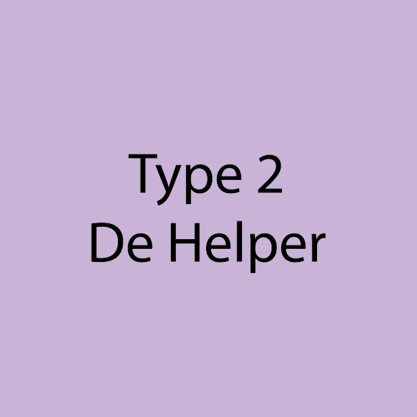 Type 2 - De Helper - Licht Violet