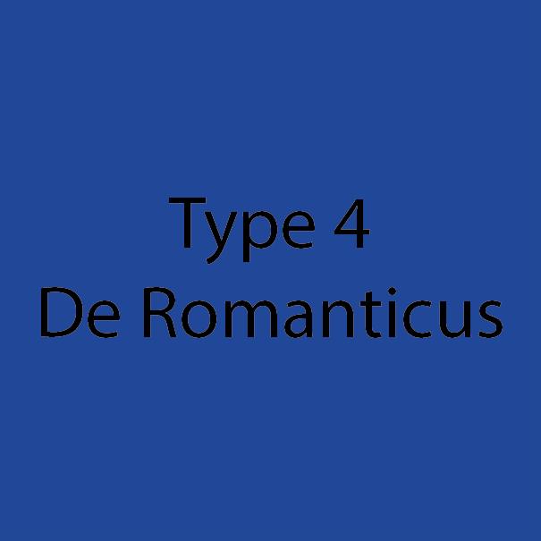 Type 4 - De Romanticus - Blauw