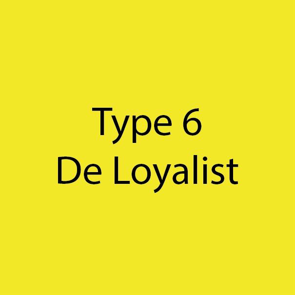 Type 6 - De Loyalist - Geel-Goud