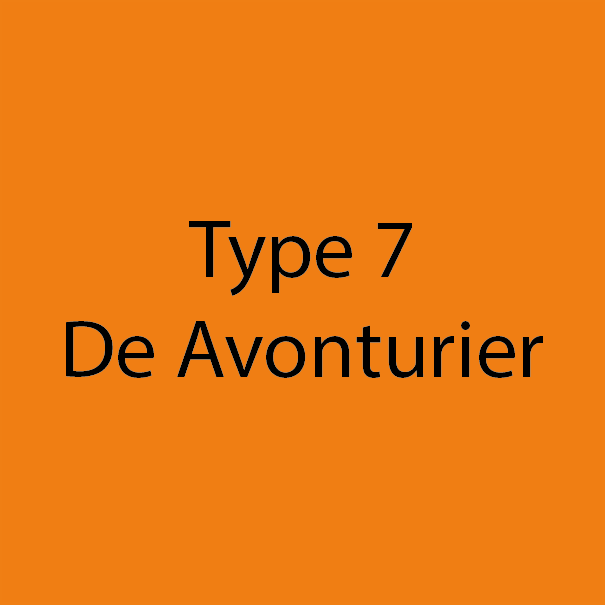 Type 7 - De Avonturier - Oranje